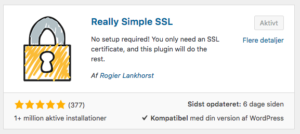Really Simple SSL - - Bedre SEO